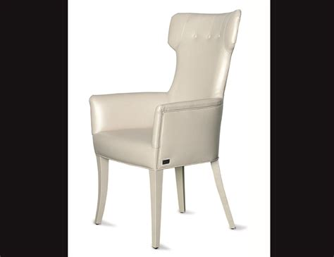cream leather armchair nella vetrina rugiano guendalina upholstered cream leather