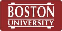 haircut boston university custom front license plates college laser cut