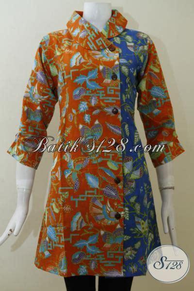 desain dress batik muslimah remaja butik dress batik jawa dengan desain terbaru cocok untuk