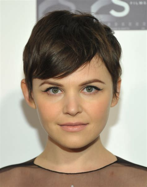 perfect pixie haircut for round face shape women hairstyles