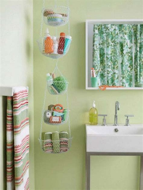 hanging baskets in bathroom easy ways to style and organize the kids bathroom