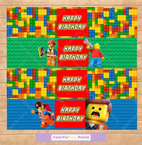 printable lego labels 116 best images about cumple theo on pinterest