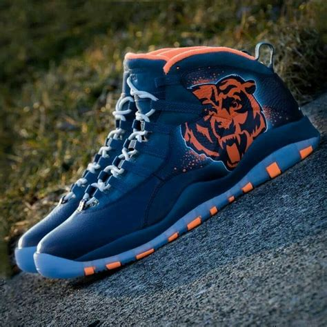 shoes chicago 2014 chi bears edition air jordans chicago bears