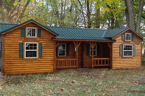 Put You In A Log Cabin Somewhere In Aspen by This Amish Log Cabin Kit Can Be Yours For 16 350