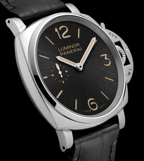 Panerai Luminor 3 panerai luminor due 3 days watches debut new luminor line in 42 45mm most popular luxury