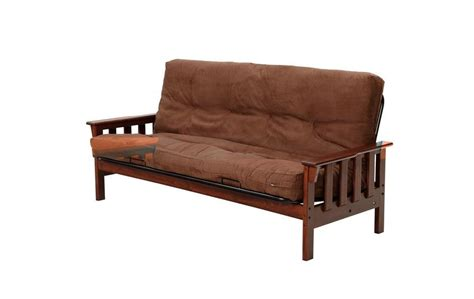 mission futon frame dark mission style wood futon frame futon seat n sleep