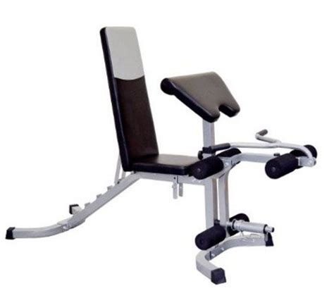 weight bench with arm curl adjustable weight bench with leg curl extension arm