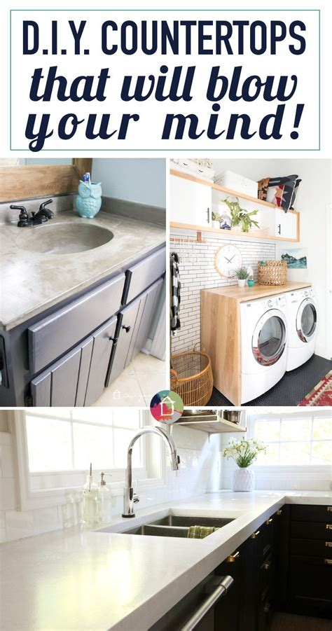 diy countertops   blow  mind designertrappedcom