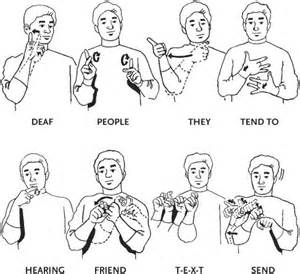 25 best ideas about sign language words on