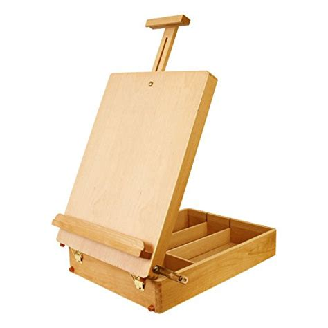Artist Sketchbox French Easel Art Table Desk Adjustable Easel Desk