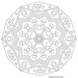 complicated coloring pages how to draw complex mandala