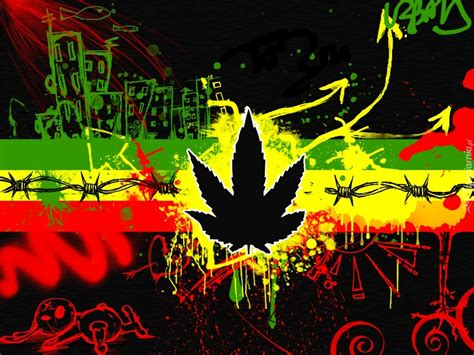 imagenes para celular rasta rasta reggae grafitti