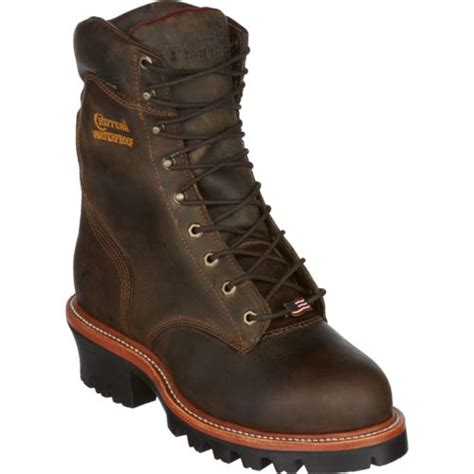 Chippewa Boots Men S Bay Apache Logger Steel Toe Rugged Rugged Outdoor Boots