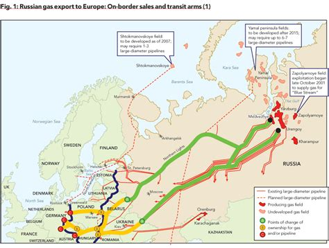 russia europe gas pipelines map europe gas pipeline map memes