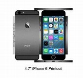 Image result for iPhone SE actual size To Print