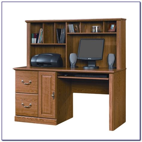 sauder computer desk with hutch sauder orchard hills computer desk with hutch cherry
