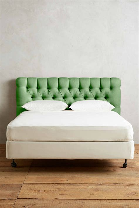 green tufted headboard 2017 pantone color of the year in 35 green designs