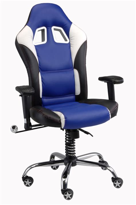 Car Guy Garage Comfy Blue Car Office Chair Blue Office Furniture