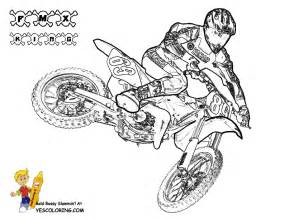 free coloring pages of x motocross