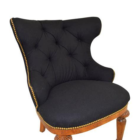 Nailhead Accent Chair 88 Furniture Masters Furniture Masters Black Tufted Nailhead Accent Chair Chairs