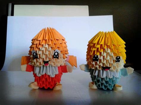 Origami Boy - and boy origami 3d by sfa87 on deviantart