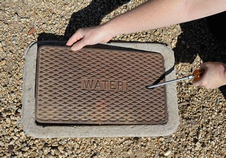 metal water meter box cover how to read your water meter smart home water guide