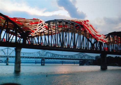 bridge bid big four bridge by studio arne quinze broken