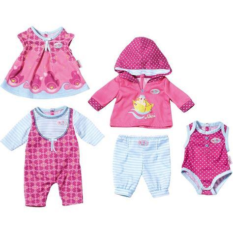 Set Mix Match by Zapf Creation Baby Born 174 Puppenkleidung Set Mix