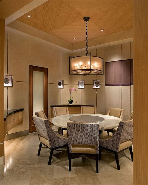 circular dining room serene and practical 40 asian style dining rooms