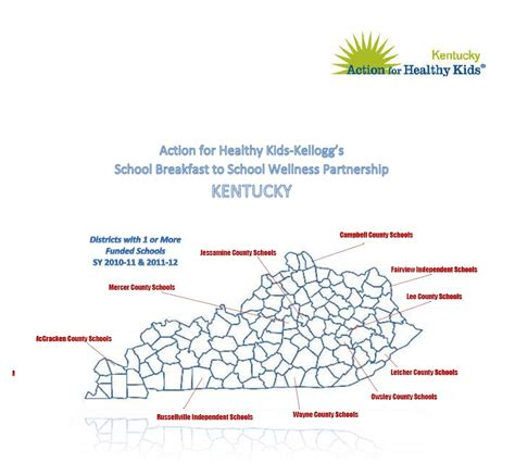 kentucky colleges map boosting school breakfast in the bluegrass monticello