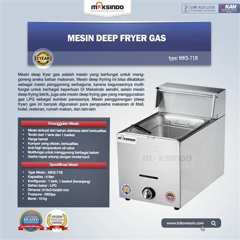 Jual Thermometer Fryer jual mesin gas fryer 6 liter mks 71b di bandung toko