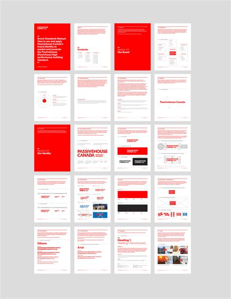 Passive House Canada Naming Identity 187 Hcma Architecture Design Projects Brand Identity Manual Template