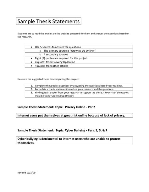 Thesis Statement Research Paper Outline by Research Thesis Statement Maker Outline And Thesis