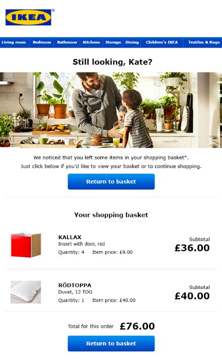 ikea mail ikea email salecycle blog