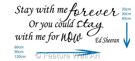 download mp3 ed sheeran stay with me ed sheeran stay with me forever lyrics vinyl wall art