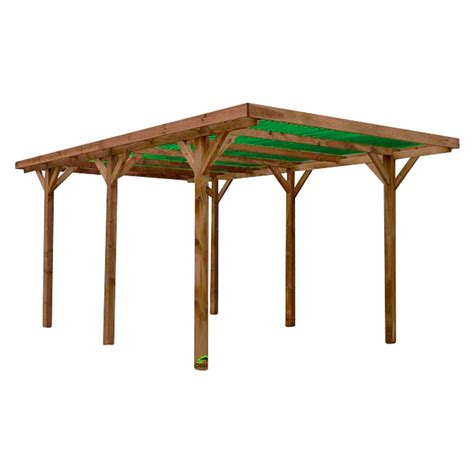 Carport 2 Voitures Pas Cher 7440 by Forest Style Carport Enzo L X An 5 120 X 3 040 Mm