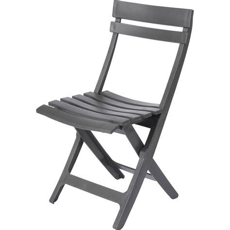 chaise miami chaise de jardin en r 233 sine miami anthracite leroy merlin