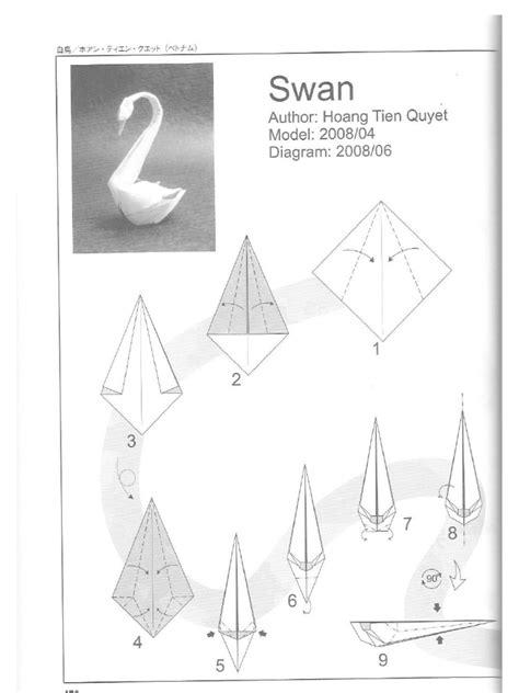 Origami Swan Pdf - swan hoang tien quyet