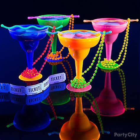 vodka tonic blacklight black light beaded drinks idea black light ideas