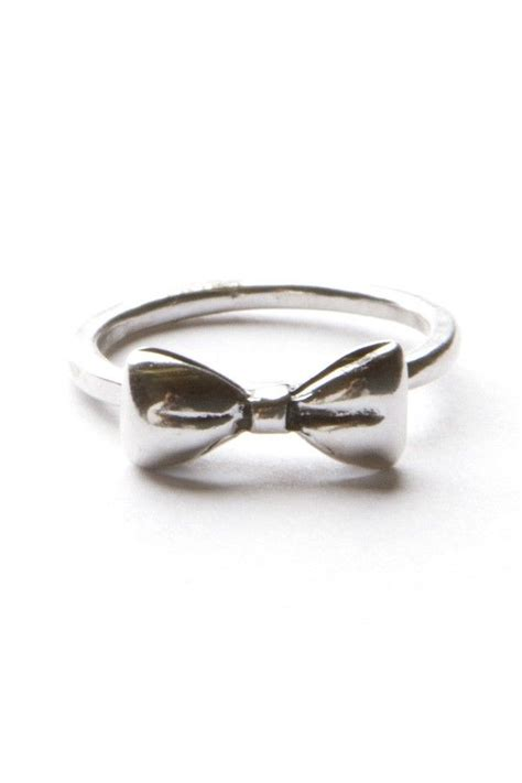 Set Of 3 Bow Ring 25 best ideas about bow rings on bead