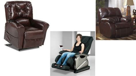 types of reclining chairs types of recliners best recliners