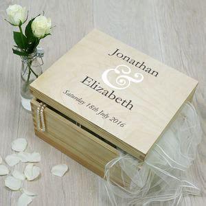 Wedding Keepsake Box Canada by Wedding Keepsake And Memory Boxes Notonthehighstreet