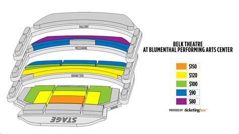 belk theatre seating plan shen yun in december 30 31 2017 at belk