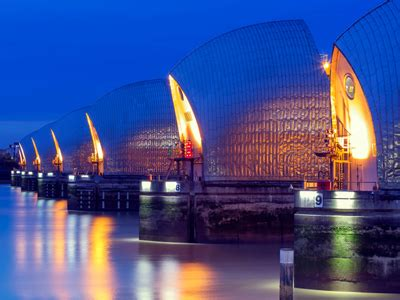 thames barrier gcse gcse geography causes of floods and effects of flooding