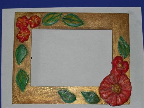 Paper Mache Frames How To Make - picture frame with paper mache flowers 183 a frame photo