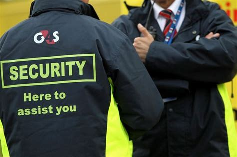 G4s Security Guard by G4s Security Guards Are Handed Redundancy Letters While Handcuffed To Dangerous Cons Mirror