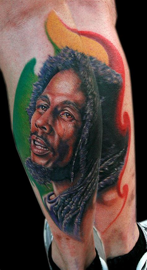 bob marley tattoo designs bob