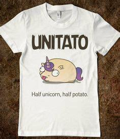 Tshirt Believe 019 Riders Clothing don t fight it be the potato potato