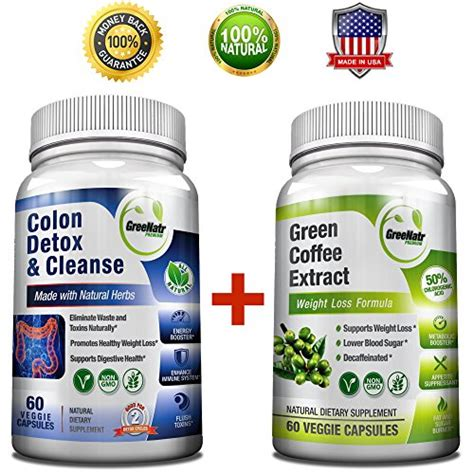 One Month Detox Diet by Green Coffee Bean Extract Colon Cleanse Detox Diet