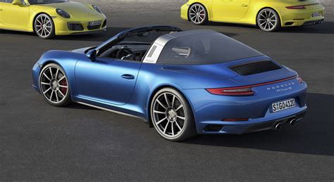 porsche targa 2017 2017 porsche 911 carrera 4 and targa 4 models make debut